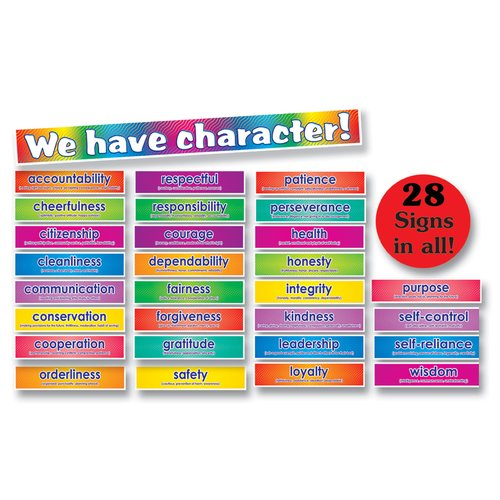 Teachers Friend Character Signs Bulletin Board Cut Out