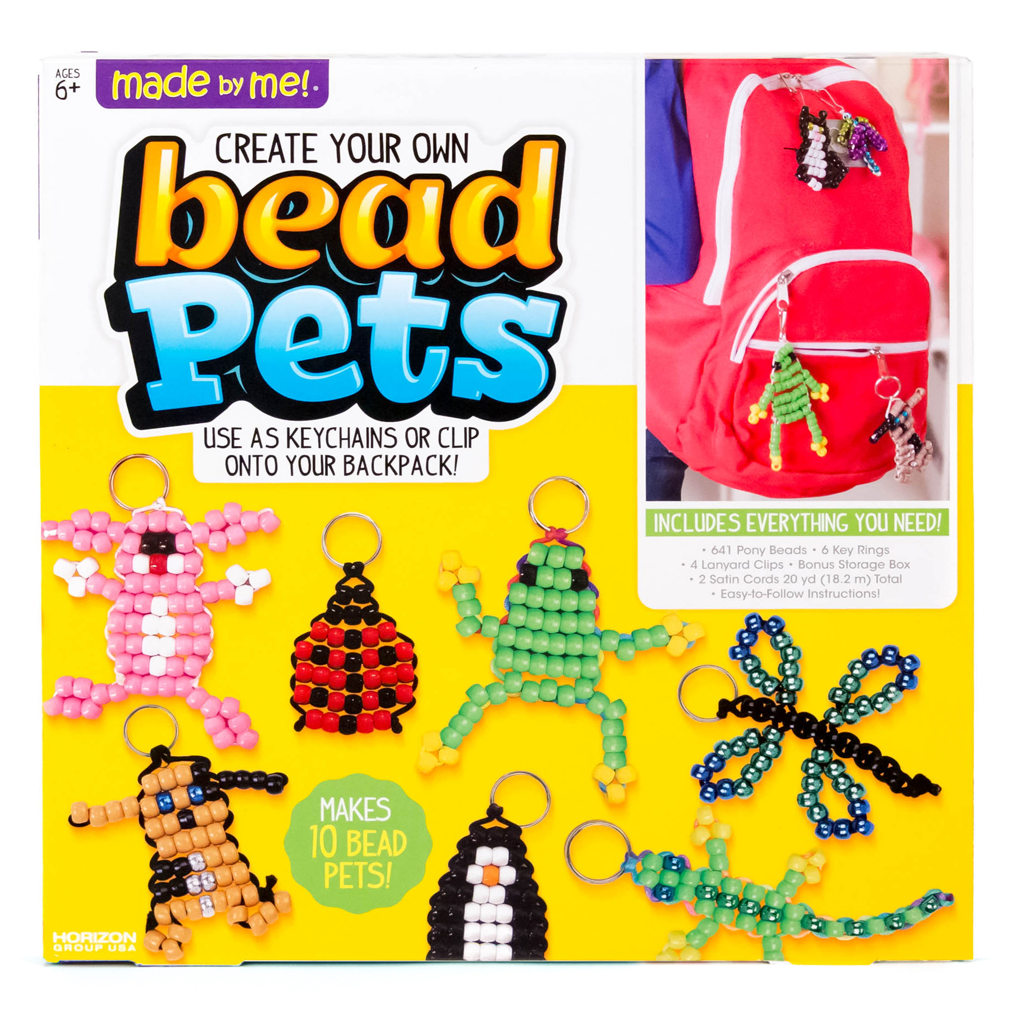 Made By Me Bead Pets by Horizon Group USA