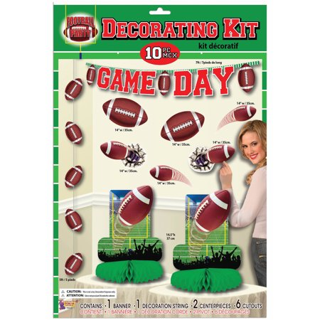 Football Party Decoration Set (10)