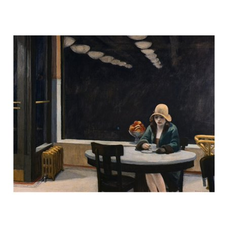 Automat Print Wall Art By Edward Hopper ()