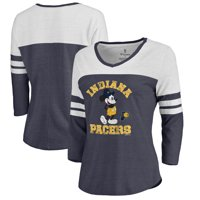 a4210dd369e3 Product Image Indiana Pacers Fanatics Branded Women s Disney Tradition  Color Block 3 4 Sleeve Tri-Blend