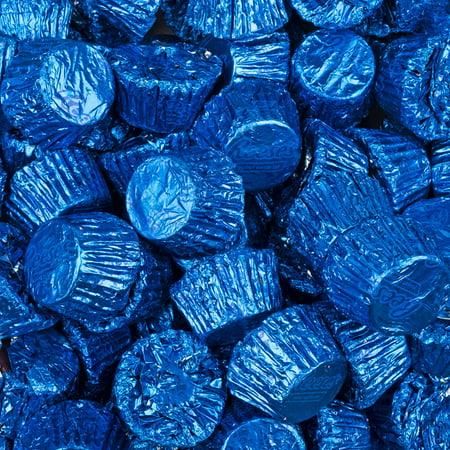 Reese's Peanut Butter Cups with Dark Blue Foil 2lb bag (Homemade Halloween Peanut Butter Cups)