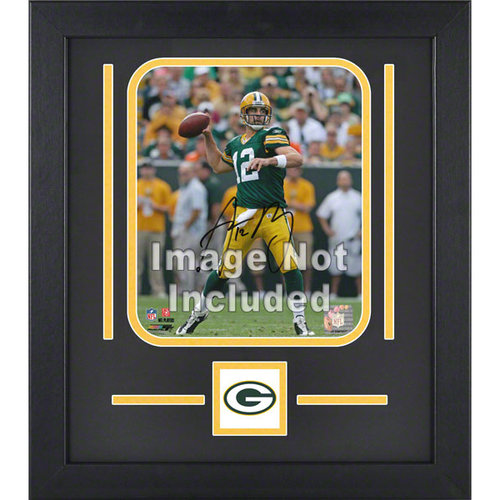 NFL - Green Bay Packers 8x10 Vertical Setup Frame with Team Logo