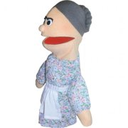 Get Ready 306A Grandma puppet- African-American- 18 inch