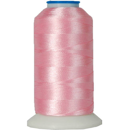 Threadart 60 Weight Micro Embroidery Thread, 1000m Spools - 30 Colors Available - Christmas Red - Pack of 5 Spools