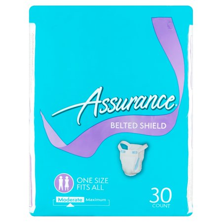 Assurance Moderate Belted Shield  30 Count