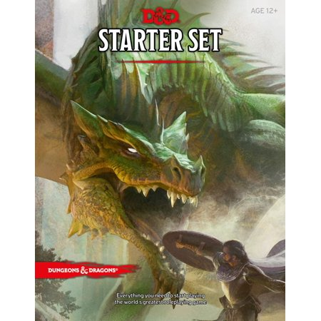 Dungeons & Dragons: Dungeons & Dragons Starter Set (Game) - Team Building Games For Halloween