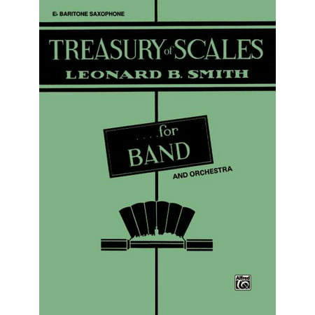 B-flat Clarinet Music Book - Treasury of Scales for Band and Orchestra 3rd B-Flat Clarinet
