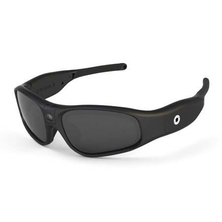 iVUE Rincon 1080P HD Camera Glass Video Recorder Sport Sunglasses Eyewear 64GB (Vidrio Glass)