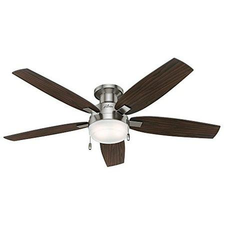Duncan 52 In Indoor Brushed Nickel Ceiling Fan