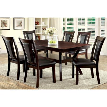 of america dionne dark cherry 7 piece dining set
