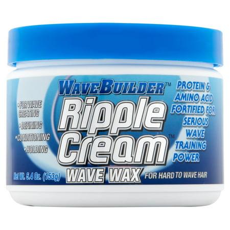 WaveBuilder Ripple Cream Wave Wax, 5.4 oz (Ripple Wave Board)