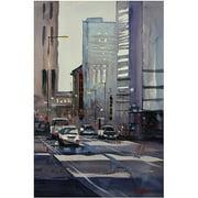 """Trademark Art """"Oriental Theater - Chicago"""" Canvas Art by Ryan Radke"""
