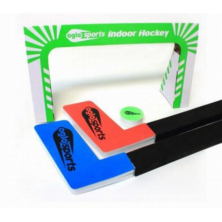 Oglo Sports Glow In The Dark Indoor Hockey Game Glowing - Glow In The Dark Sports
