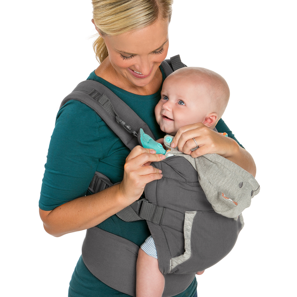 7d8895d92f8 Infantino Cuddle Up Ergonomic Hoodie Carrier - Walmart.com
