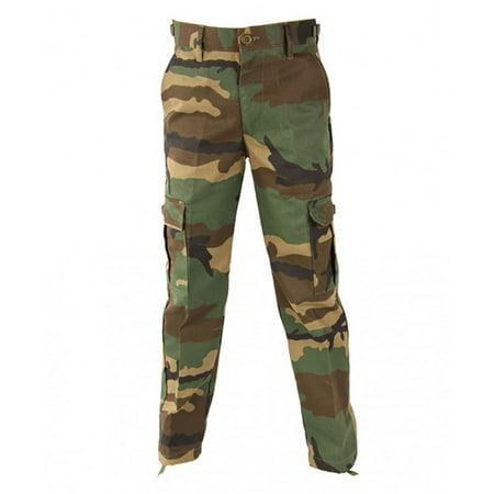 Kid's BDU Nylon Cotton Twill Wrinkle Resistant Tactical Trouser (Kids Nylon Pants)