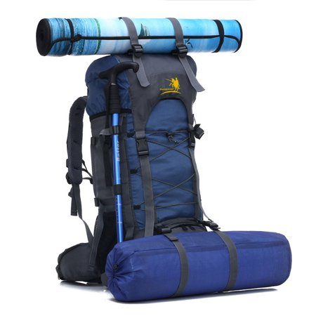 UBesGoo 60 L Unisex Water Resistant Professional Camping Hiking Backpack Sport Mountaineering Traveling Pack 6 Colors Available