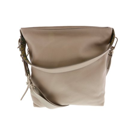 c38452c3ba Fossil Women s Maya Small Leather Cross Body Bag Hobo - Mineral Gray -  Walmart.com