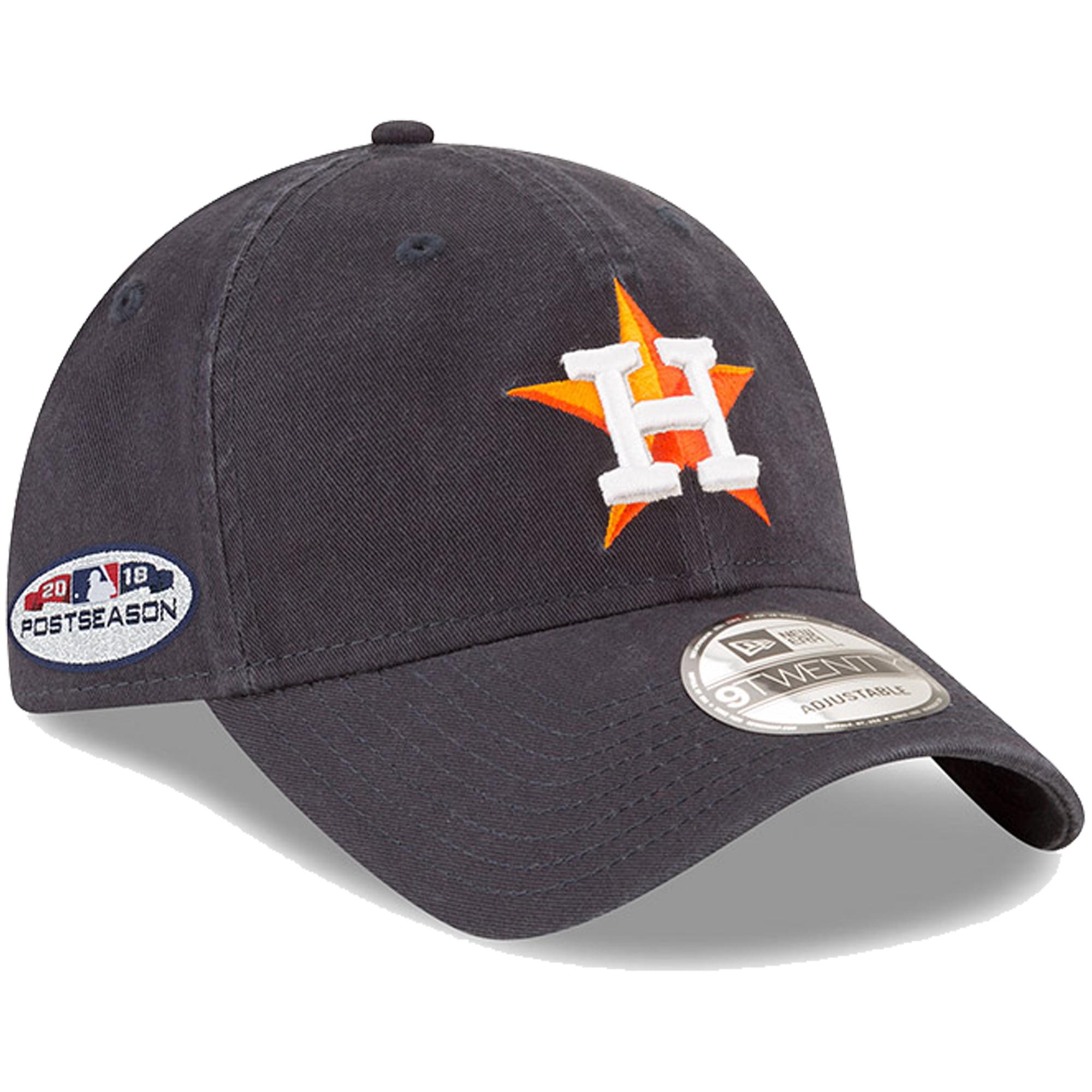 Houston Astros New Era 2018 Post Season Side Patch 9TWENTY Adjustable Hat - Navy - OSFA