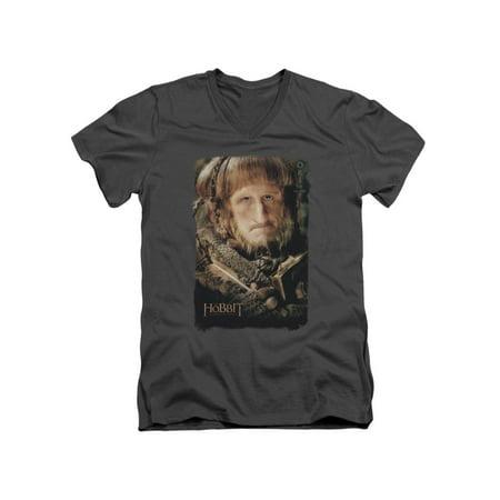 Ori The Hobbit (The Hobbit Unexpected Journey Movie Ori Poster Adult V-Neck T-Shirt)