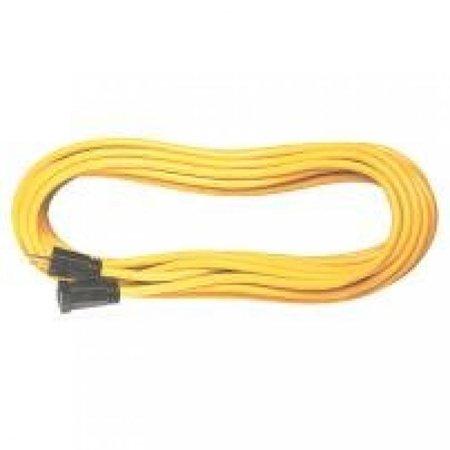 Voltec 05-00109 16/3 SJTW Outdoor Extension Cord, 50-Foot, Yellow