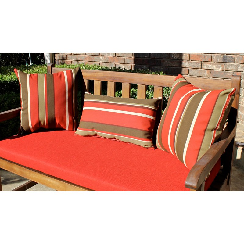 Blazing Needles Outdoor Pillows - Set of 3
