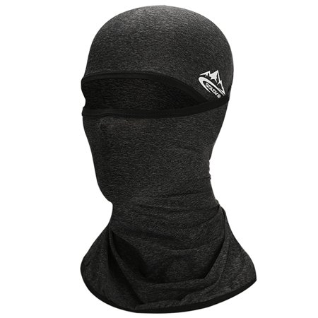 Cycling Face Mask UPF50+ Helmet Liner Balaclava Cooling Ice Silk Neck Gaiter Summer UV Protection Headgear Balaclavas Neck Gaiters