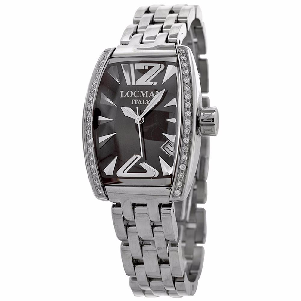 Locman Ladies silver Stainless Steel watch