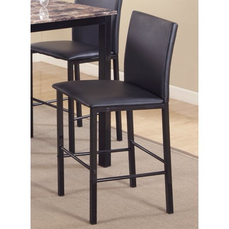 Roundhill Citico Metal Counter Height Dining Chairs With