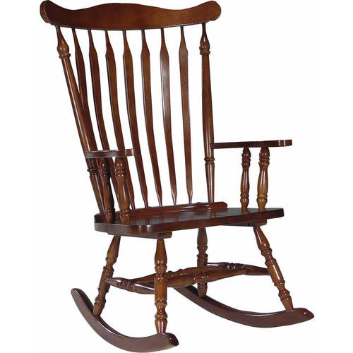 International Concepts Solid Wood Rocker by Generic