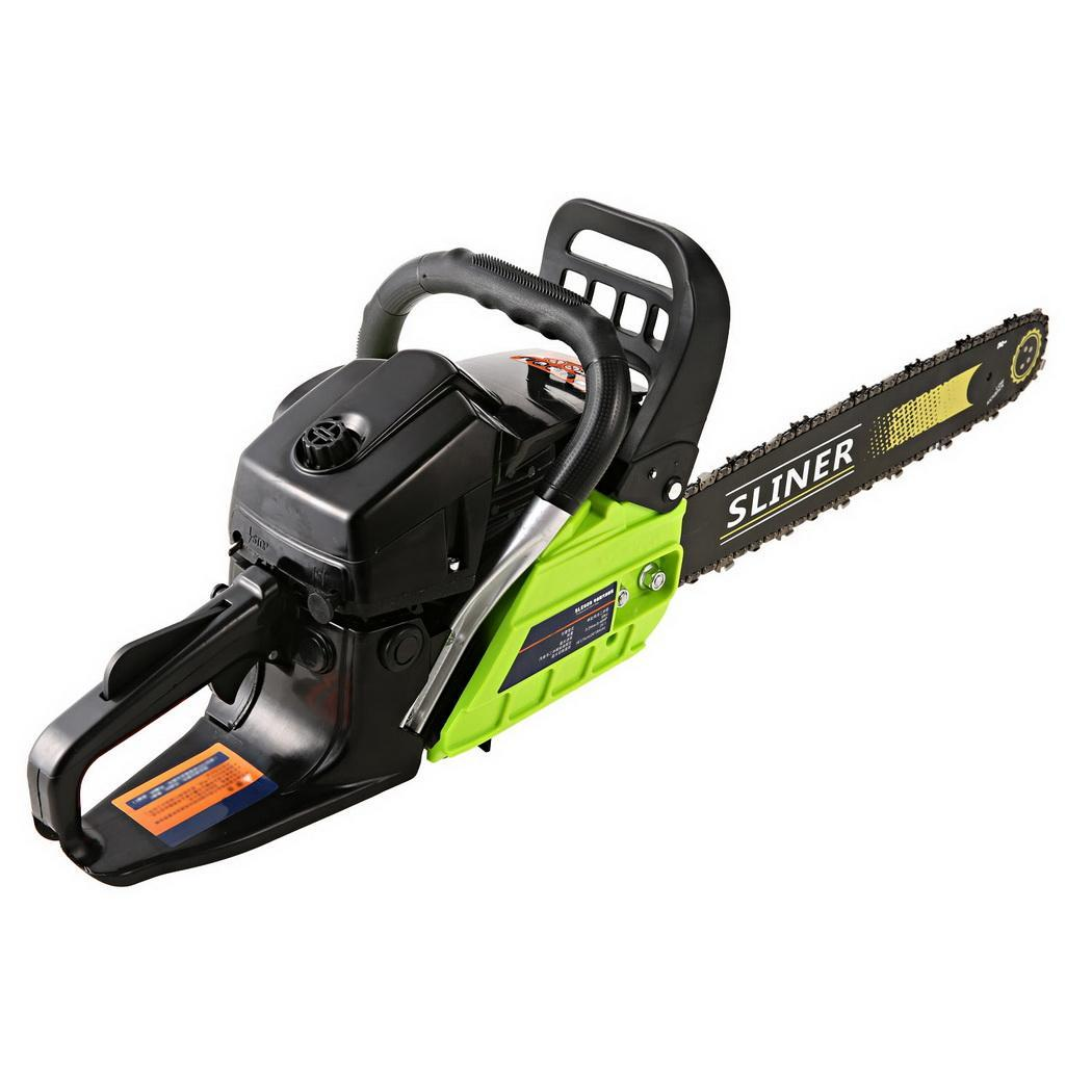 Gas Chainsaw on Sale Chainsaw Machine 3.6HP with 20'' Bar and Saw Chain Alloy Starter & Assisted Start