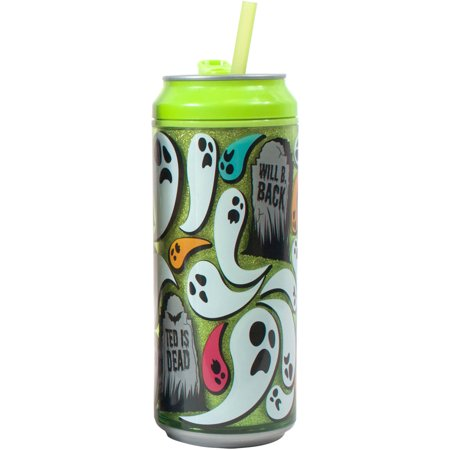 * Clearance * 16 oz Green Ghost Glitter Can