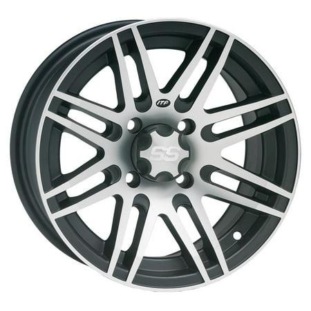 ITP SS316 Machined ATV Wheel Front/Rear 14x7 4/115 - (5+2) [14SS909] ()