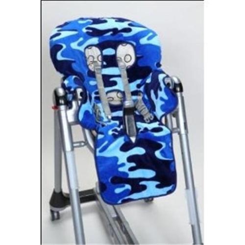 SpecialTex CS-HCSP-BL CAMO CleanSeat High Chair Cover BLUE CAMO