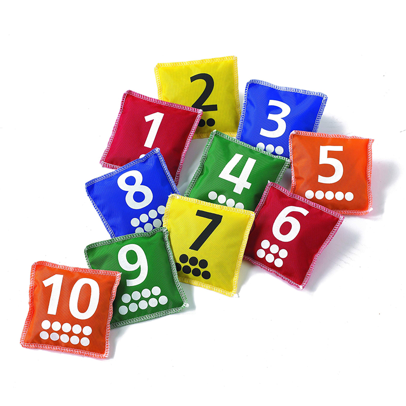 Learning Advantage NUMBER & DOT BEAN BAGS