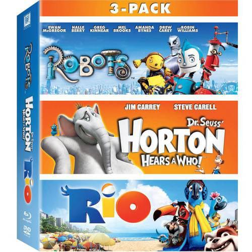 Robots / Horton Hears A Who! / Rio