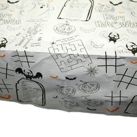 Kids Activity Halloween Tablecover