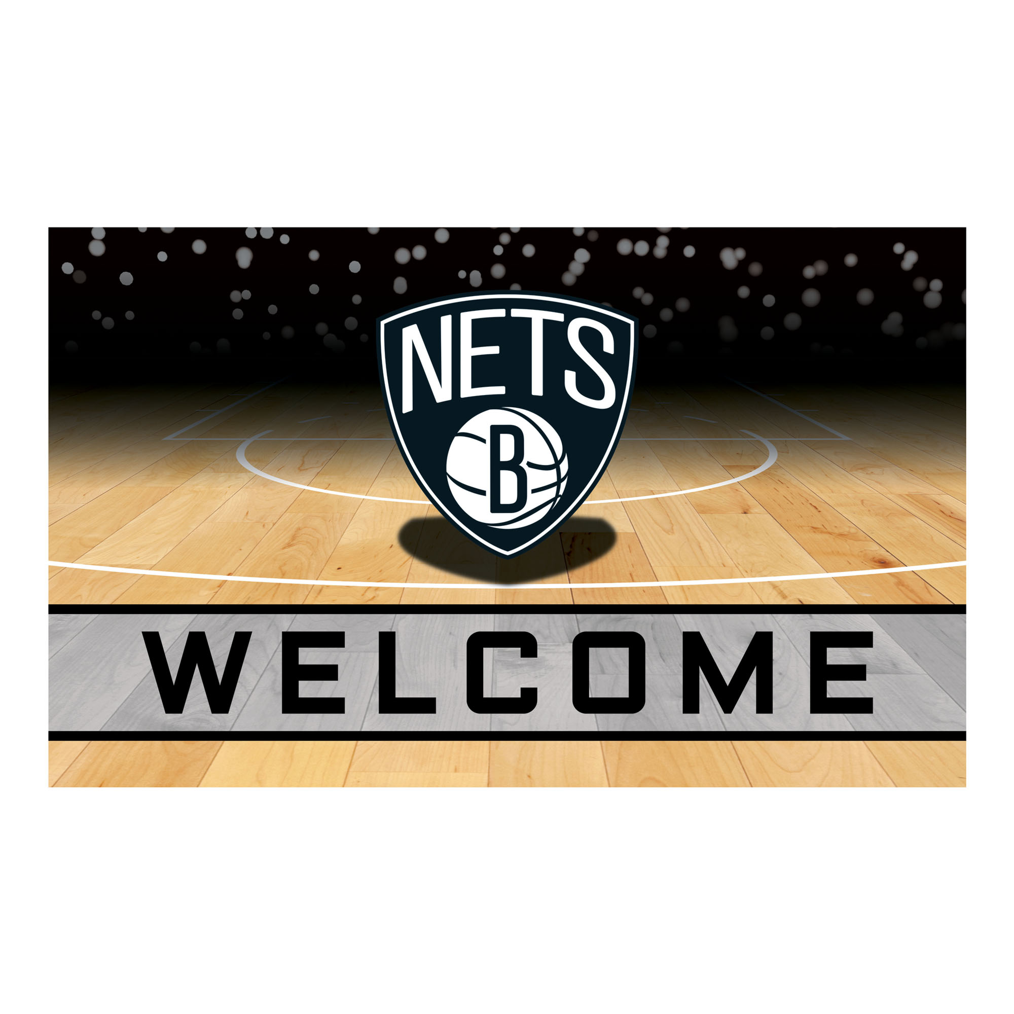 Brooklyn Nets Crumb Rubber Door Mat