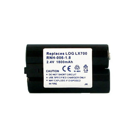 Logitech LX 700 Cordless Desktop Wireless Mouse Battery RNH-006-1.8 Ni-MH 2.4V (1800 mAh) Battery - Replacement For Logitech L-LC3H-AA and 190264-0000