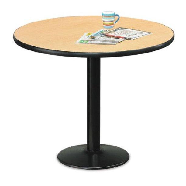 Cafe Au Lait 30 Quot Round Standard Height Table Walmart Com Walmart Com