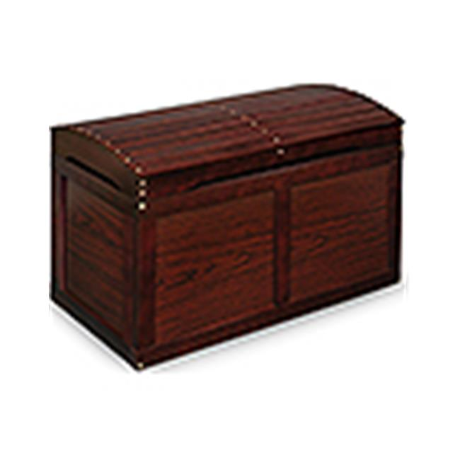 Badger Basket 01340 Hardwood Barrel Top Toy Chest Cherry by Badger Basket