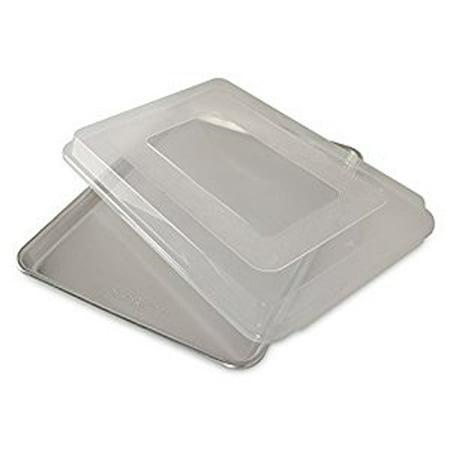 Hal Sheet - Nordic Ware Naturals® Baker's Half Sheet with Lid, Aluminum, BPA-free Plastic Cover, Lifetime Warranty, 16.25