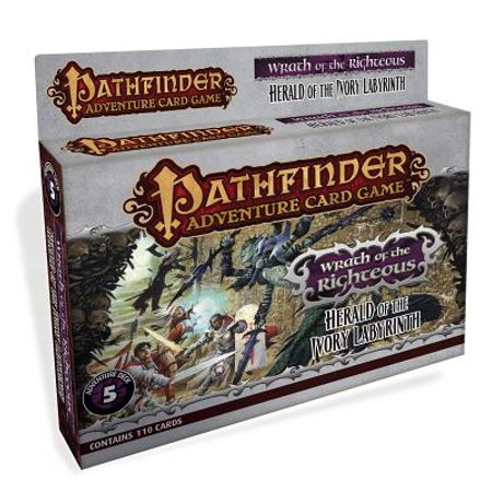 Pathfinder Adventure Card Game: Wrath of the Righteous Adventure Deck 5 : Herald of the Ivory Labyrinth
