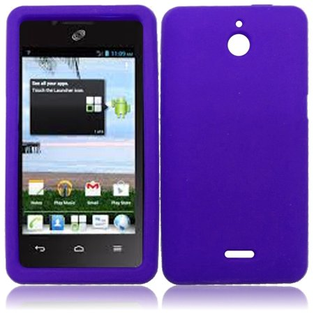 Silicone Skin Case for for Huawei Ascend Plus H881C - Purple](phone cases for huawei h881c)