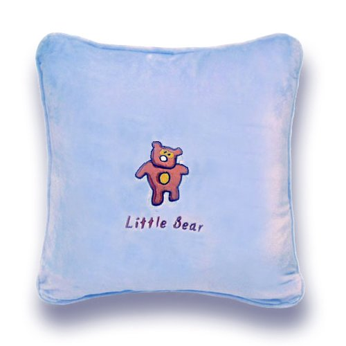 Zoomie Kids Greeson Little Bear Throw Pillow