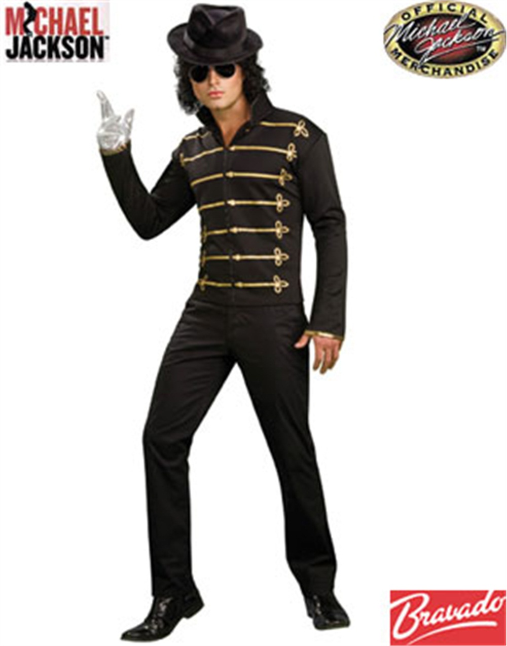 Michael Jackson Military Printed Jacket Adult Halloween Costume - Walmart.com  sc 1 st  Walmart : michael jackson costume for women  - Germanpascual.Com