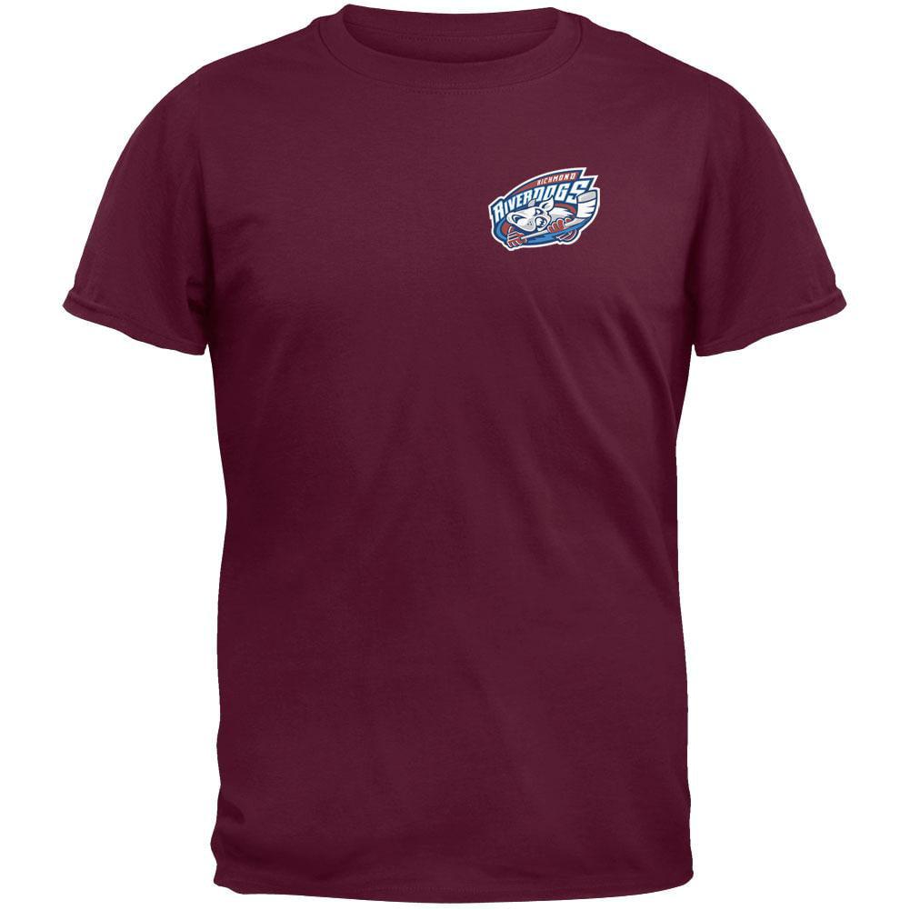 Crest Print Mono Mad Dog Adult Sweatshirt Richmond Riverdogs