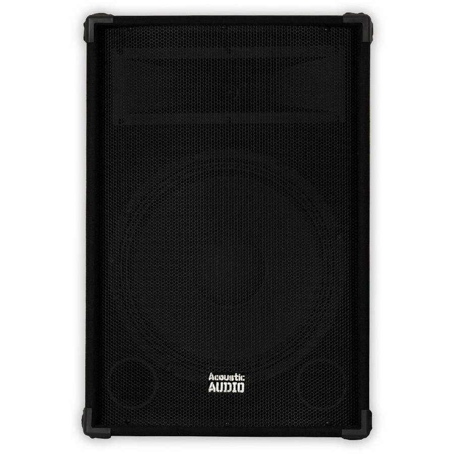 "Acoustic Audio DR15 Pro 15"" Speaker PA, DJ, Karaoke, Band, 700W, 2 Way by Acoustic Audio"