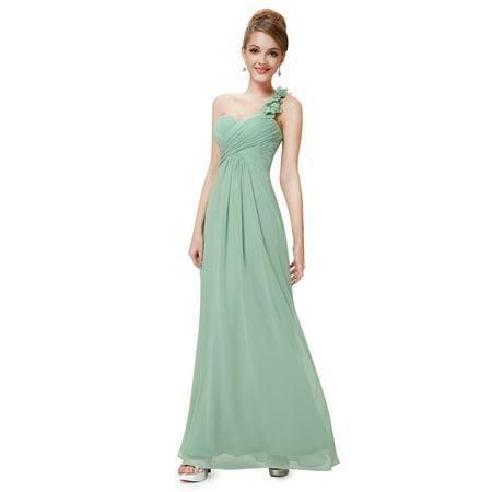 Ever Pretty Womens Elegant One Shoulder Evening Maxi Dresses Prom