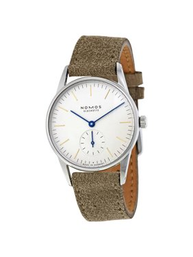 Nomos Orion 33 White Dial Stainless Steel Ladies Watch 321